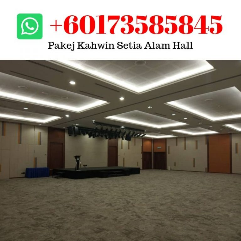 setia alam wedding hall